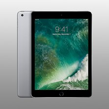 Apple iPad 5e gen 32GB WiFi Svart