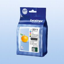Brother LC3211VALDR Value-pack